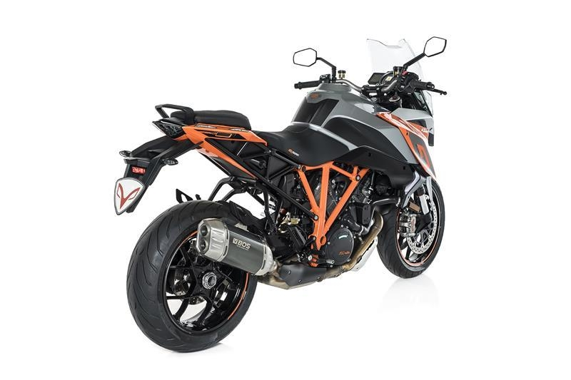 bos desert fox auspuff ktm super duke 1290 gt ab 2017 539. Black Bedroom Furniture Sets. Home Design Ideas