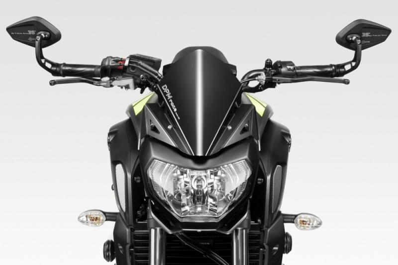 dpm warrior windschild yamaha mt 07 rm17 rm18 ab 2018. Black Bedroom Furniture Sets. Home Design Ideas