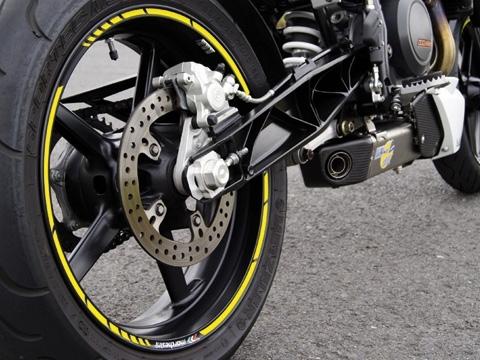 Felgenrandaufkleber GP Racing Tricolore MATT Motorrad Aufkleber Auto