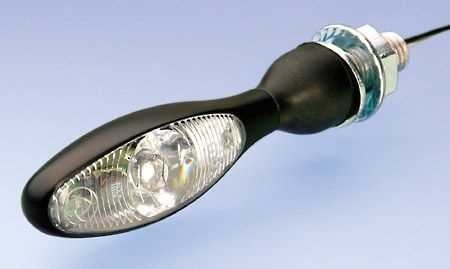 kellermann micro 1000 led blinker schwarz klares glas. Black Bedroom Furniture Sets. Home Design Ideas