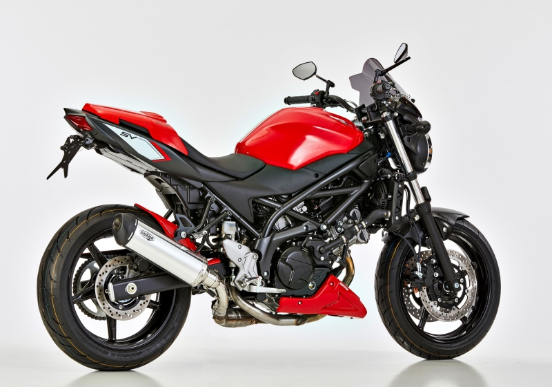 shark dsx 5 auspuff suzuki sv650 ab 2016 euro4 325 00. Black Bedroom Furniture Sets. Home Design Ideas