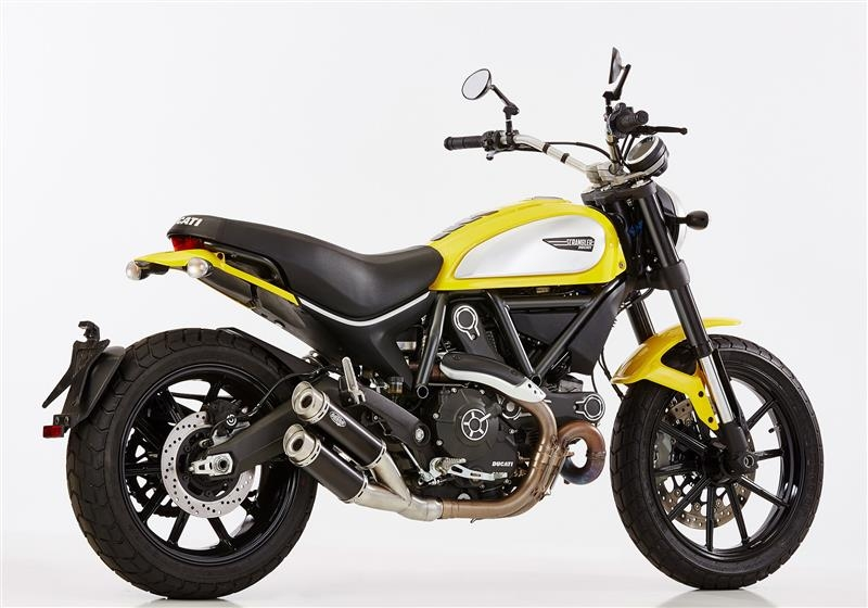 shark track 1000 auspuff ducati scrambler 636 45. Black Bedroom Furniture Sets. Home Design Ideas