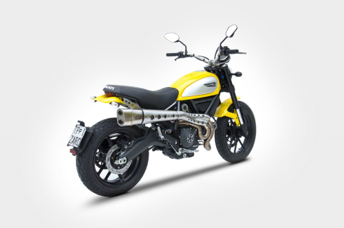 zard auspuff komplettanlage ducati scrambler 800 14 16. Black Bedroom Furniture Sets. Home Design Ideas