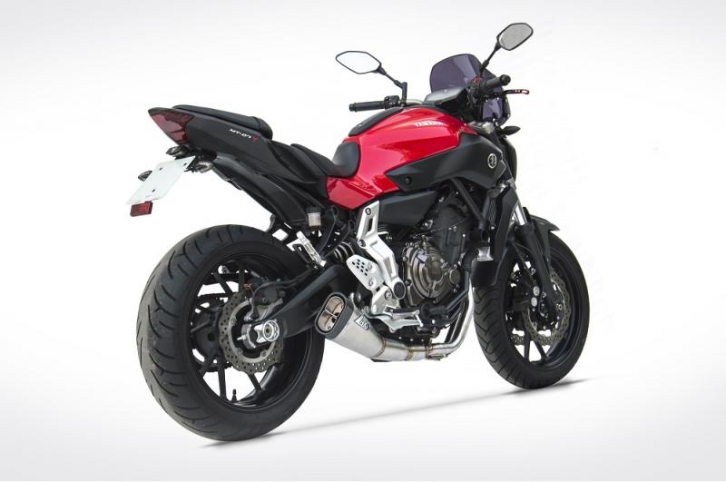 zard auspuff komplettanlage yamaha mt 07 motocage 14. Black Bedroom Furniture Sets. Home Design Ideas