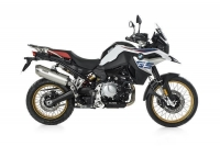 BOS DUNE FOX Auspuff BMW F850 GS / ADVENTURE ab 2018
