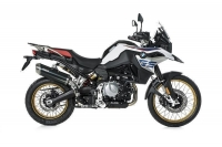 BOS DUNE FOX CARBON STEEL Auspuff BMW F850 GS / ADVENTURE...