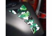 CTC Tankpad universal SOFT TOUCH CAMOUFLAGE GREEN EDITION