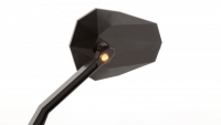 HIGHSIDER STEALTH -X2 Lenkerspiegel mit LED Blinker