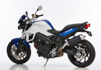 HURRIC RAC1 BLACK EDITION Auspuff BMW F800R  09-14