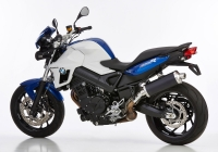 HURRIC RAC1 BLACK EDITION Auspuff BMW F800 R  15-16