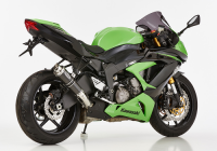 HURRIC  SP CARBON Auspuff ZX-6R 636