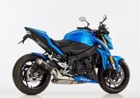 HURRIC SUPERSPORT Auspuff BLACK EDITION für SUZUKI GSX-S...