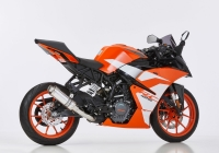 HURRIC SUPERSPORT Auspuff KTM RC125 ab 2017  EURO4