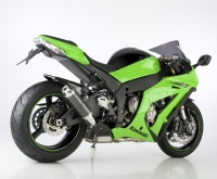 HURRIC SUPERSPORT CARBON Auspuff KAWASAKI ZX-10R  11-15