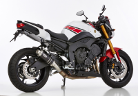 HURRIC SUPERSPORT BLACK EDITION  Auspuff FZ8 FAZER RN25