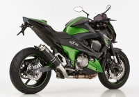 HURRIC SUPERSPORT BLACK EDITION Auspuff KAWASAKI Z800 /...