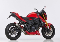 HURRIC SUPERSPORT BLACK EDITION Auspuff SUZUKI GSX-S 750...