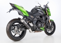 HURRIC SUPERSPORT CARBON Auspuff KAWASAKI Z750 / R ab 2011