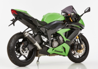 HURRIC  SUPERSPORT  CARBON Auspuff ZX-6R 636