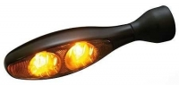 KELLERMANN micro 1000 DARK Led Blinker SCHWARZ / getöntes...