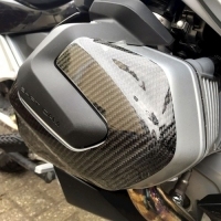R&G Carbon Motordeckel Protector Satz rechts+links BMW...