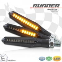 RUNNER Sequentieller LED-Blinker / Lauflichtblinker