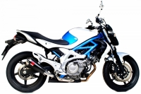 SCORPION POWER CONE CARBON Auspuff SUZUKI GLADIUS 650 ab...