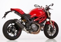 SHARK DSX-10 CARBON Auspuff DUCATI MONSTER 1100 / EVO  11-13