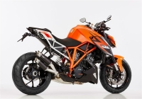SHARK TRACK BLACK EDITION Auspuff KTM SUPER DUKE 1290 R...