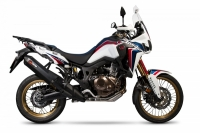 SCORPION SERKET BLACK EDITION Auspuff HONDA CRF1000...