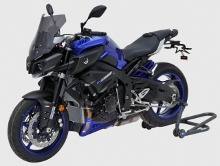 Bugspoiler lackiert YAMAHA MT-10 RN45 ab 2016 Tech Black