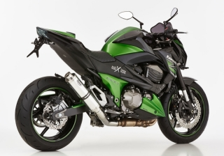 HURRIC SUPERSPORT Auspuff KAWASAKI Z800 / Z800E ab 2012