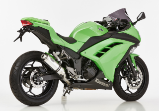 HURRIC SUPERSPORT Auspuff KAWASAKI NINJA 300