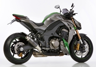 HURRIC SUPERSPORT CARBON Auspuff KAWASAKI Z1000  14-16